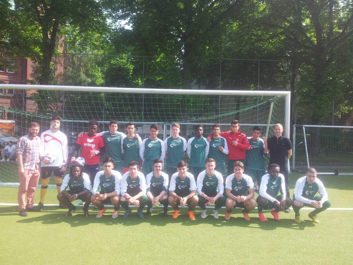 Fußball-Team unterliegt im Finale von Jugend trainiert für Olympia