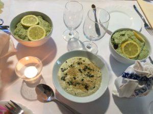 Abendessen für Freunde