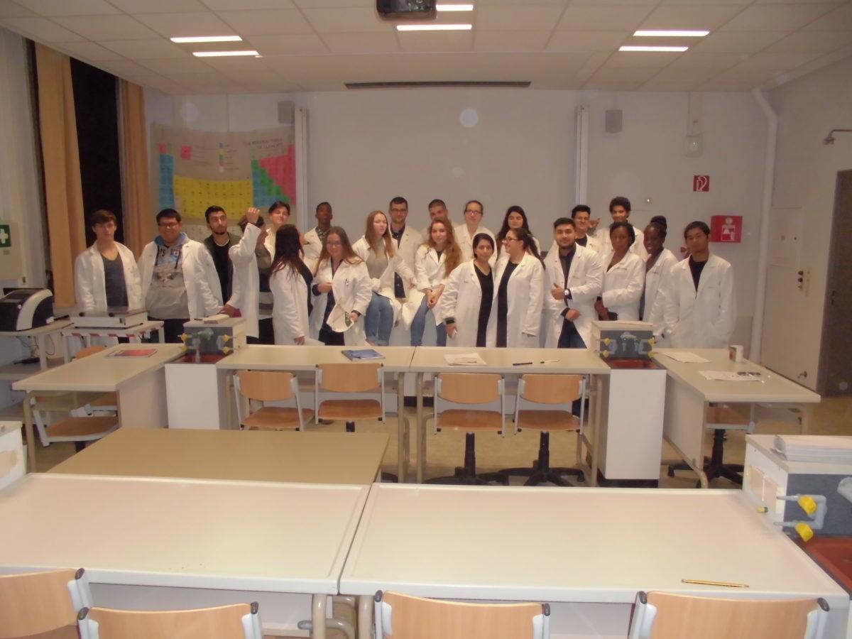 Auf der Suche nach der DNA – Labortag in Jahrgang 12