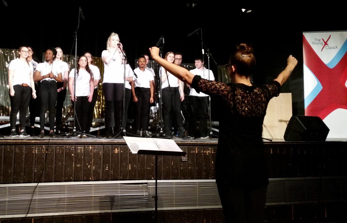 Young Classix: Erstes Werkstattkonzert des Oberstufen-Chors