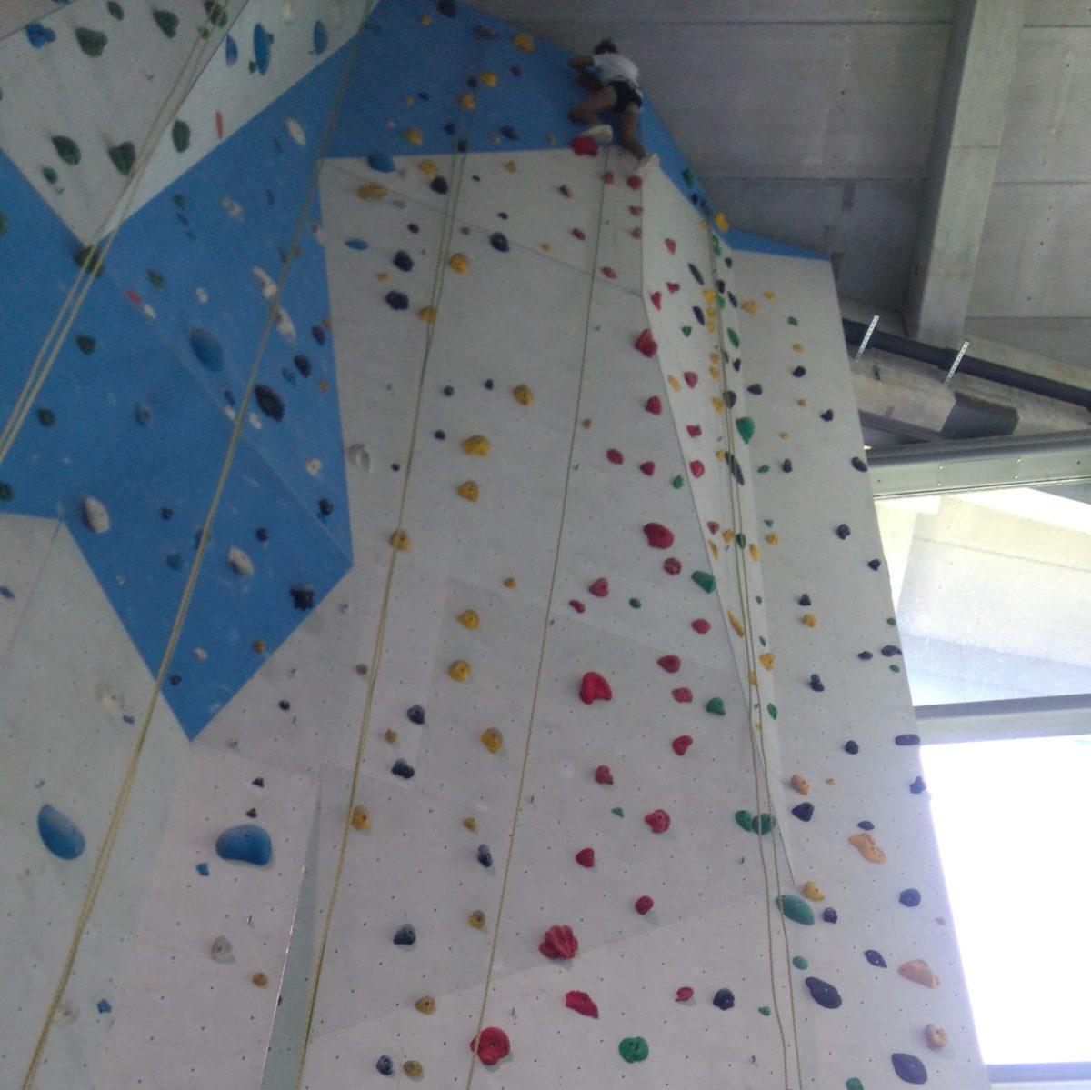 SchüFi-Kinder hoch hinaus: Couragierte Schüler erobern Nordwandhalle