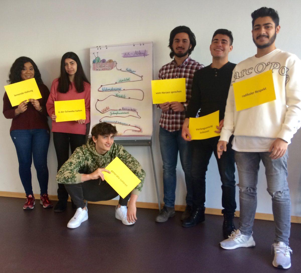 Interkulturelles Kompetenztraining in Jahrgang 12