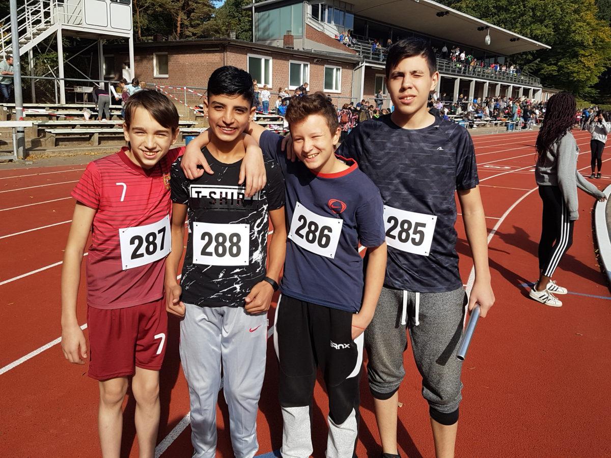 Staffel-Läufer überzeugen bei Meisterschaften
