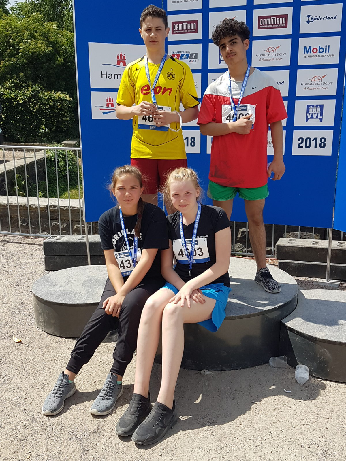 Neustadt nimmt am Kids-World-Triathlon teil
