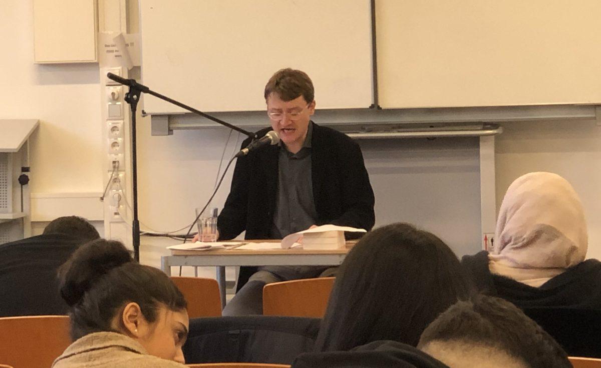 Lesung mit Dr. Renatus Deckert zum Mauerfall