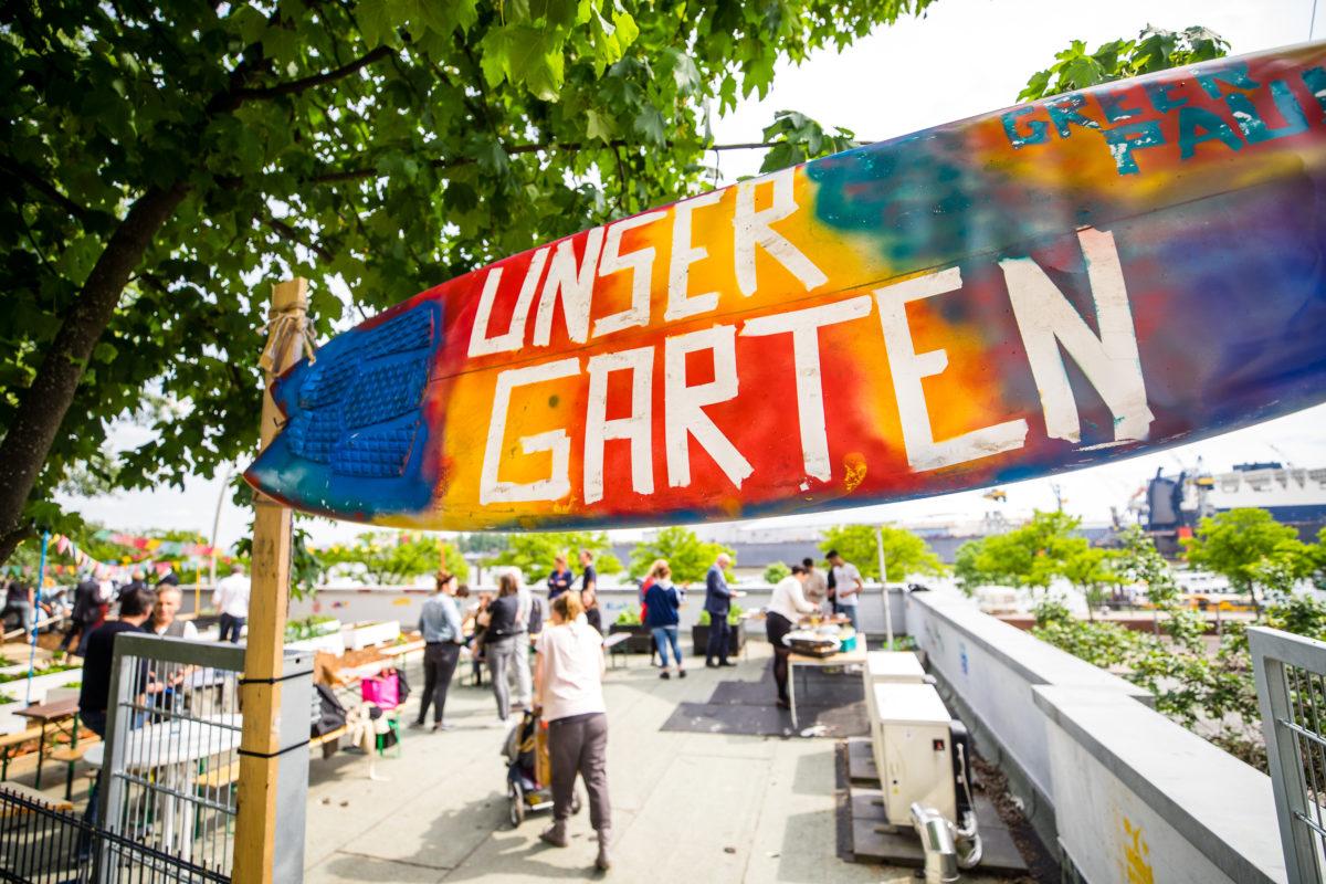 """""""Unser Garten"""" feiert Eröffnung – Ab jetzt wird gegärtnert"""