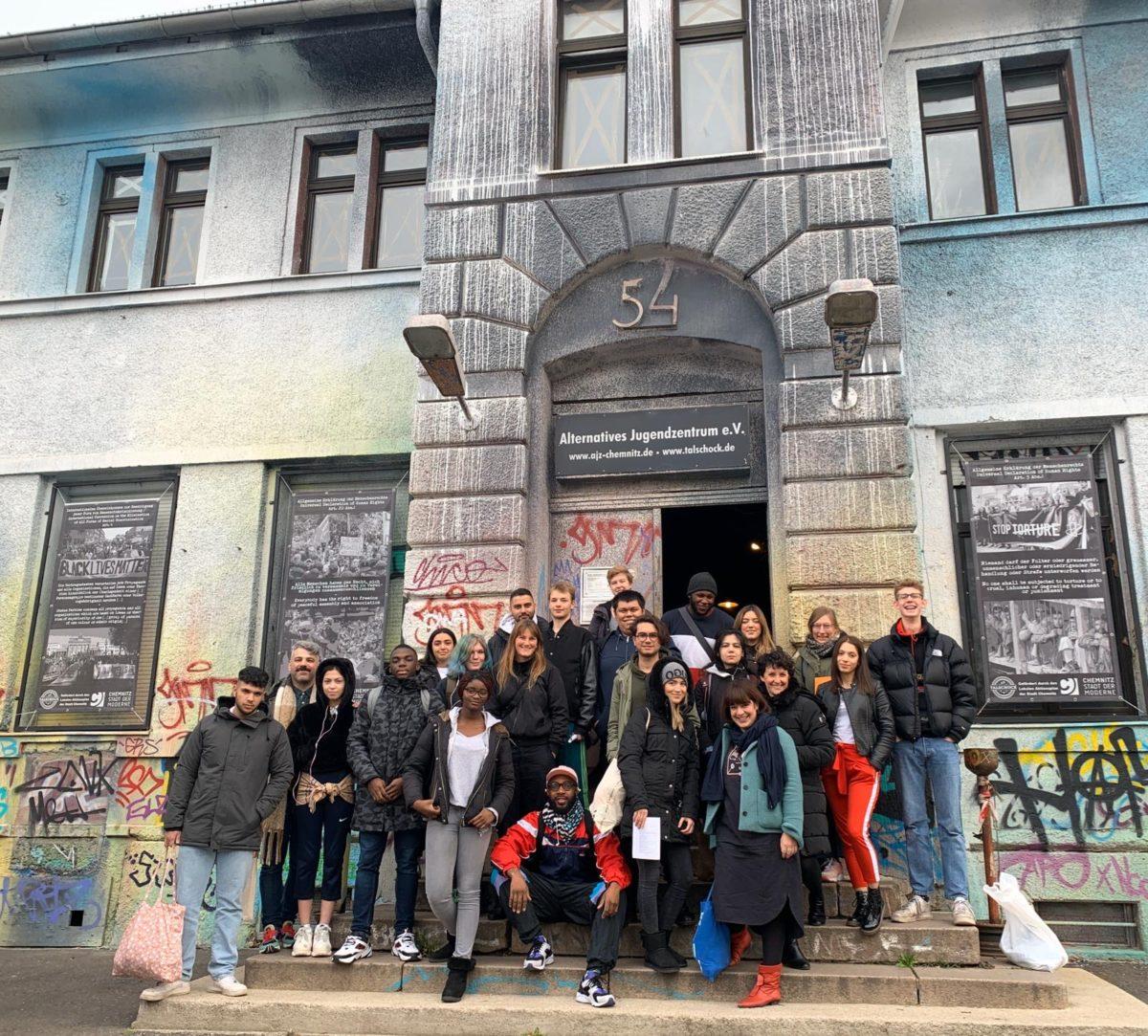 """Theaterprojektkurs """"Wir.Wie?"""" beim AUFSTAND DER UTOPIEN in Chemnitz"""
